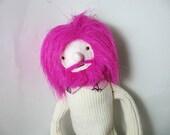 My Pretty Pink Sparkle Boyfriend Plush Fabric Doll