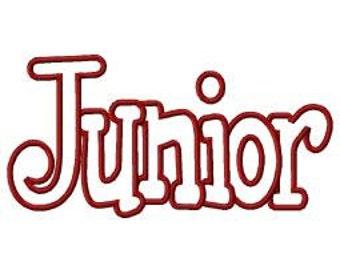 Junior Embroidery Machine Applique Design 4074