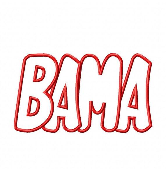 Bama Embroidery Machine Applique Design 4004