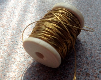 Antique Gold thread combo two hundred inches cosplay