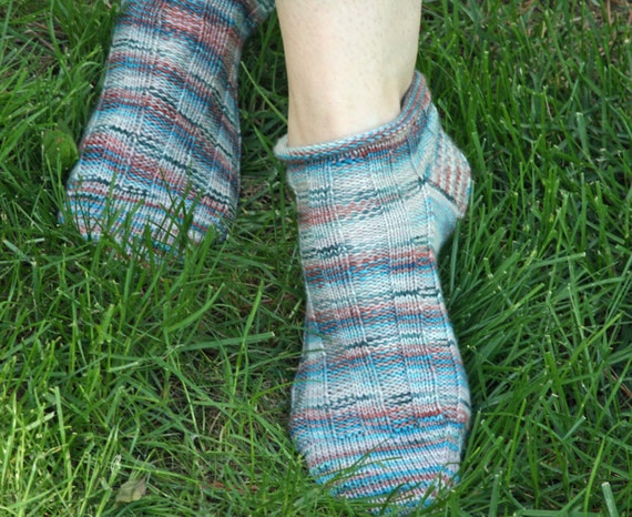 Ankle Sock Knitting Pattern : KNITTING PATTERN-Blueberry Tart Sock Pattern