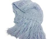 Blue Scarf, Knit Scarf, Gift Idea For her, Hand Knit Scarf, Fashion Scarf, Women Accessory,  Fiber Art, Blue Scarf, Lavender,