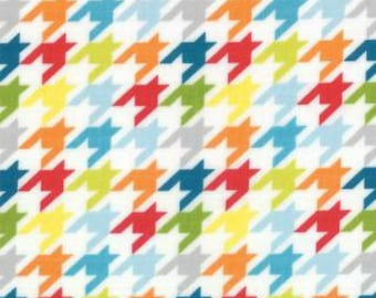 Mixed Bag by Studio M for Moda Fabrics, Houndstooth Jamboree, 1/2 yd