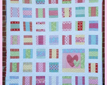 Candy Love Quilt Pattern