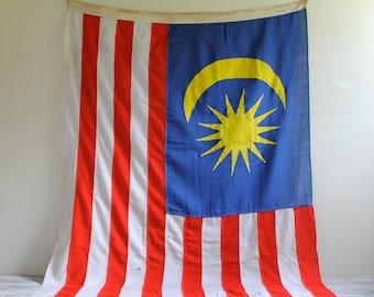 Vintage Flag of Malaysia