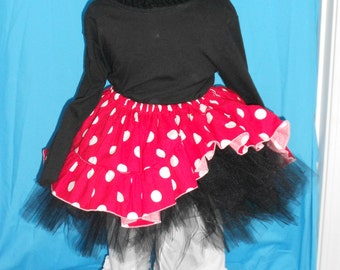 NEW...Boutique OOAK Minnie Mouse Tutu Set