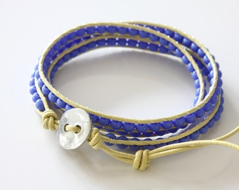 SALE 50% OFF, Wrap Beaded Bracelet - Friedship Bracelet - Girls Bracelet - Teen Bracelet - Hippie Bracelet - Summer Bracelet