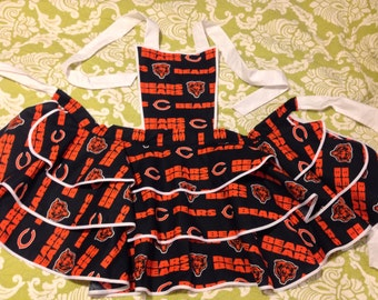 Hot Chick Aprons Chicago Bears apron