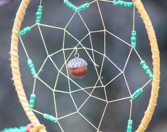 The Power of Growth & Strength - Acorn Dream Catcher