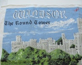"Vintage Windsor Castle Linen Towel 20"" by 30"""