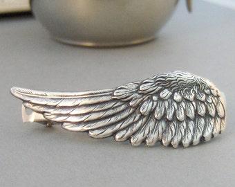 Inner Spirit,Barrette,Hair Pin,Hair Accessory,Head Band,Wing,Angel Wing,Angel Wing Barrette,Angel Wing Hair,Hair. valleygirldesigns.