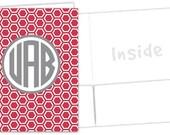 Personalized Pocket Folder - Honeycomb