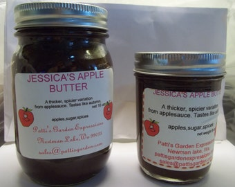 Organic Apple Butter in 2 sizes for your Holiday Eating