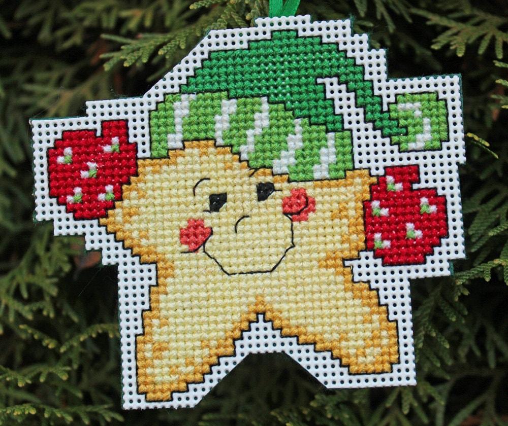 Cross Stitch Christmas Ornament Star