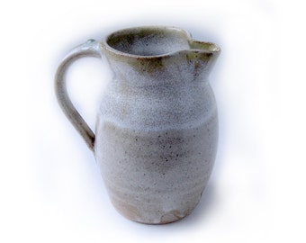 White and Yellow Pitcher