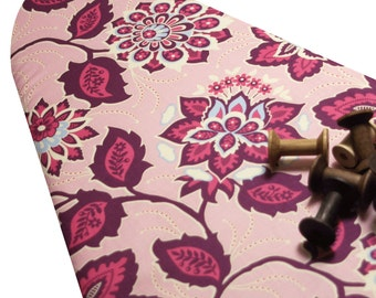 Ironing Board Cover Custom Design ironing board cover Joel Dewberry Heirloom pink amethyst blossoms select the size