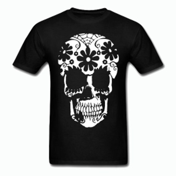 Sugar Skull T and other Dark offerings (multi listing)