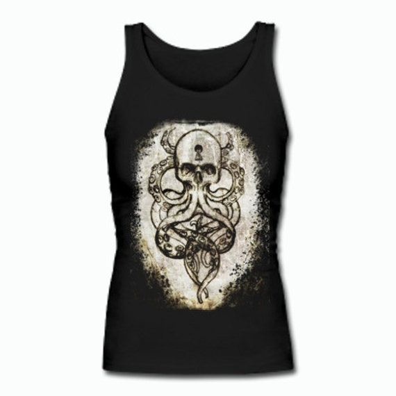 Cthulu Kraken Skull tank
