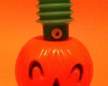 Vintage Plastic Pumpkin with Squeaker E Rosen
