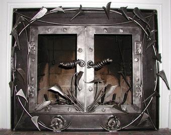 Fire Place Doors
