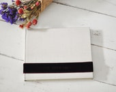 Custom Personalized Wedding Photo Album, a meaningful Family Photo Album - Velvet Sash design by ClaireMagnolia