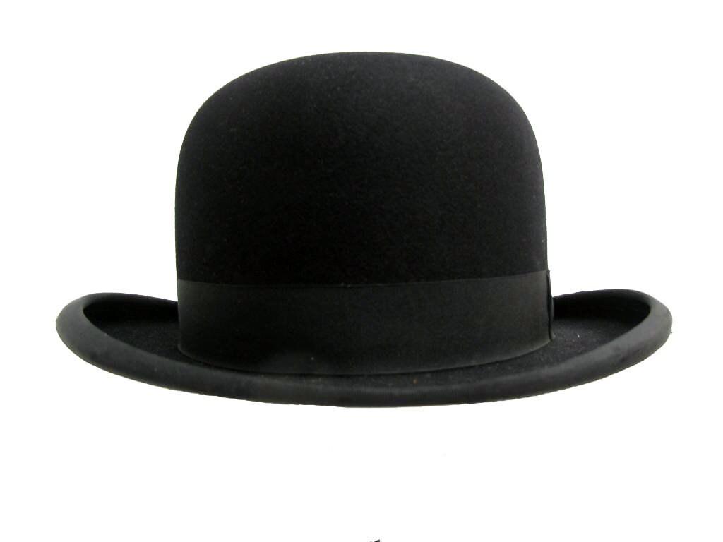 Vintage 1931 Derby Hat Mens Royal Quality Bowler Formal Hat