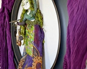 ON SALE-Muse of Embodied Nature Mixed Media Art Sculpture