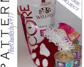 INSTANT DOWNLOAD : Santa Paws Stocking  (3 Styles) Crochet Pattern