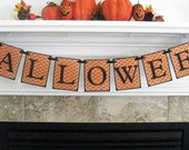 HALLOWEEN Banner, Garland by Mailbox Memories