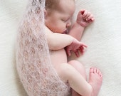 Gossamer Wrap Pattern - Newborn Photo Prop - Pattern Only - Digital Download