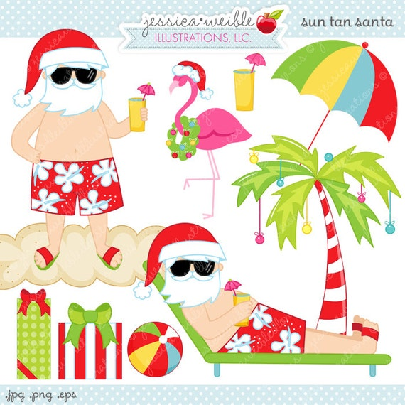 free clip art hawaiian christmas - photo #20