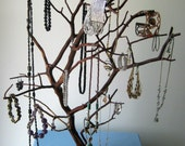 Hand Carved Manzanita Jewelry Tree