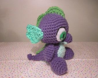 MLP Crochet Spike