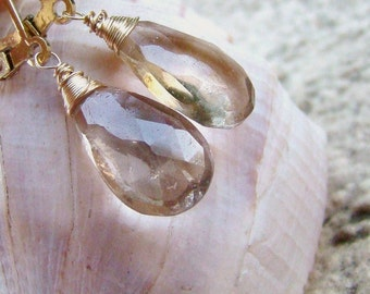 Sale Ametrine Gold Earrings