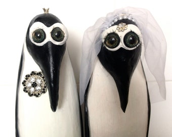 ROYAL WEDDING Kate und William. Hochzeitspinguine.