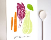 Pinzimonio Raw Vegetable Italy Art Print / high quality fine art print