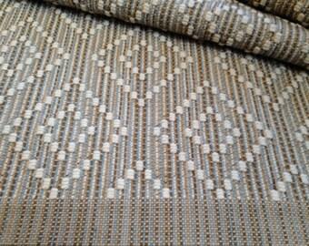 Rug Runner, 3'x5' Small Area Rug, Hand Woven Wool Rug, Handwoven Double Diamond Design
