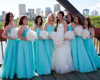 10 piece Feather Bridal Package