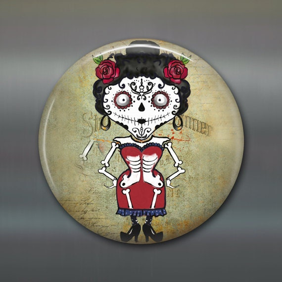 items similar to magnet day of the dead magnet