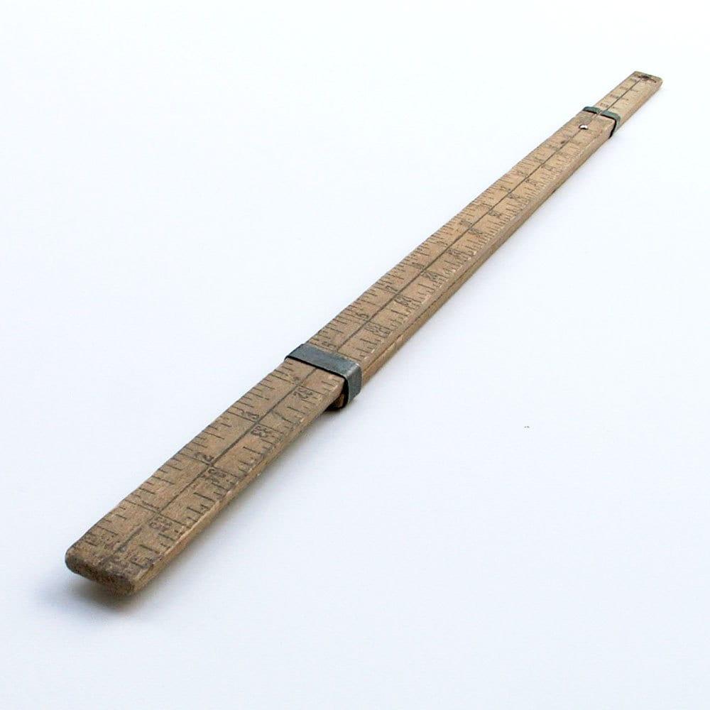 Vintage Wooden Ruler Sliding Yard Stick Ideal Laundry Company : ilfullxfull50922088711rj from www.etsy.com size 1000 x 1000 jpeg 112kB