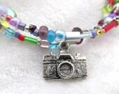 Decepticon Reflector memory wire bracelet