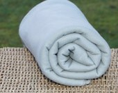 SALE Sweatshirt Fleece Fabric, Sage, 4 yards for USD 10