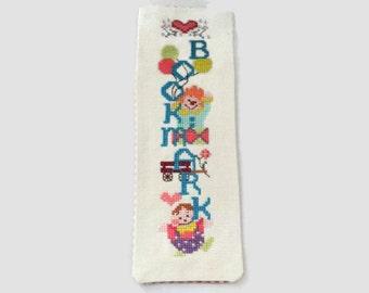 Cross Stitched Bookmark