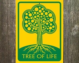 Tree of Life Sign Art