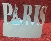 DIY Paris word stand alone 1
