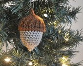 Lucky Acorn Ornament Christmas Holiday Home Decor Woodland Decoration Nature