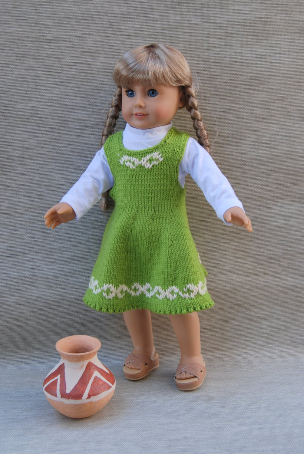 JUMPER for your DOLL downloadable knitting by knittingfordolls