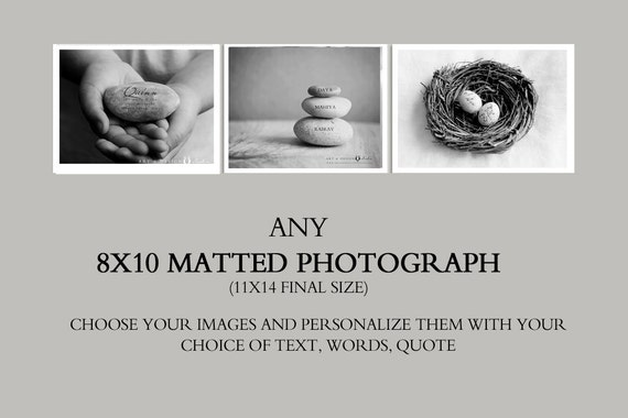 8x10 Fine Art Print,  8x10 Matted Photography Print, Affordable Gift Prints, Matted Photograph, Personalized Photo Gifts, Personalised Print