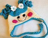 Girl Crochet Beanie Hat