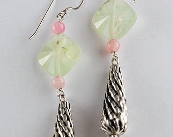 Pretty in Prehnite Earrings